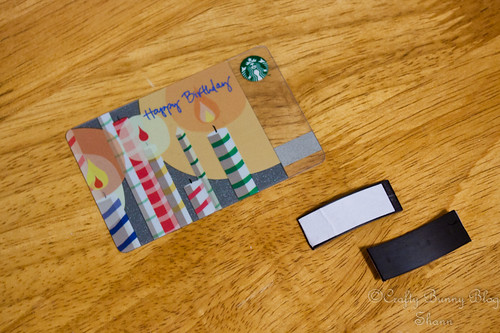 Gift Card Magnet Tutorial