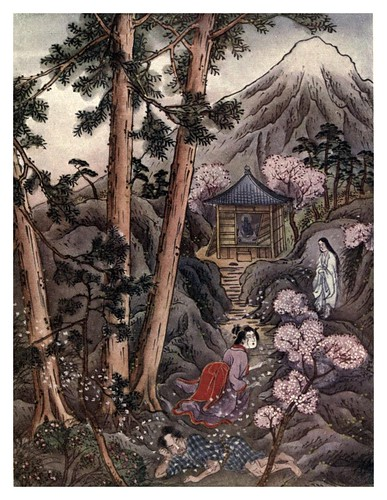 011- Dando vida perpetua al vino-Ancient tales and folklore of Japan-1908-Mo-No-Yuki