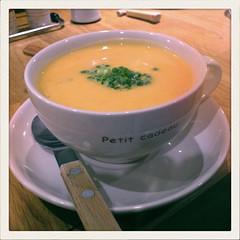 バターナッツかぼちゃの冷製スープ