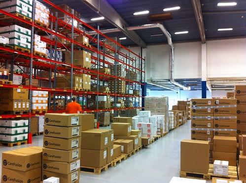 Mediq Sverige Kungsbacka warehouse
