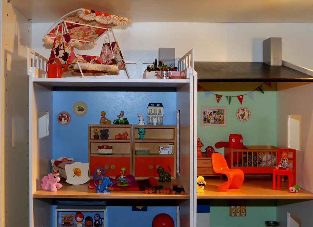 ikea lillabo dollshouse blythe. (*blythe-berlin*) Tags: Ikea Lillabo Dollshouse Blythe