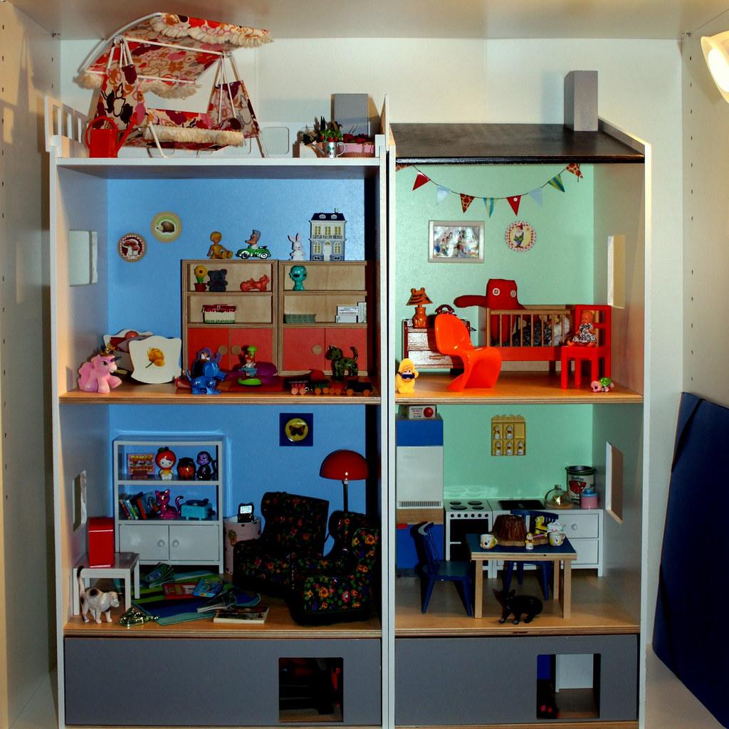 ikea lillabo dollshouse blythe. The Ikea Lillabo Dollshouse(*blythe-berlin*) Tags: Dollshouse Blythe