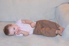 Alannah on the Couch (Craig Dyni) Tags: baby girl madelyn alannah dyni