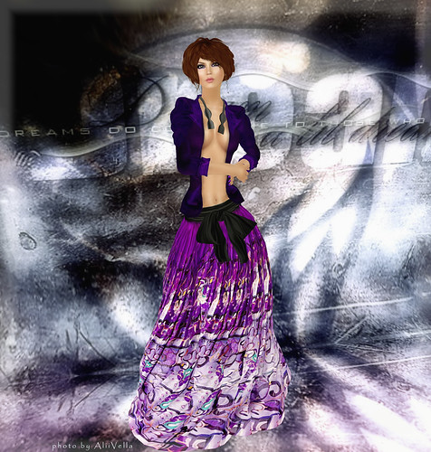 BFW - GizzA - Masculine Maxi Outfit by Alii Vella