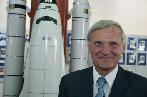 Astronaut Ernst Messerschmid