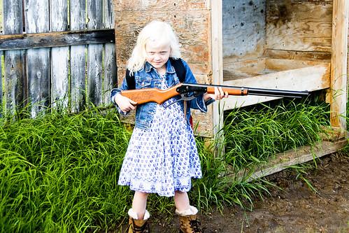 Georgie get  your gun