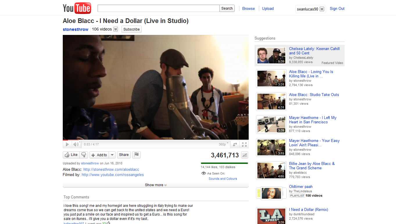 YT Video Page Old