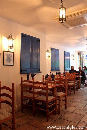 Interior, Aegean Taverna