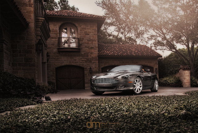 beautiful car dallas texas astonmartindb9volante