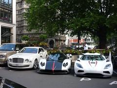 Money (BenGPhotos) Tags: red white black car r supercar bentley spotting cinque zonda koenigsegg combo roadster pagani mulsanne hypercar worldcars agera