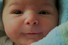 My Son (FrankGuido) Tags: boy baby macro smile face big handsome cheeks chubby 7611 babysmile infantsmile afsmicronikkor60mmf28ged 10lb9oz 10pounds9ounces