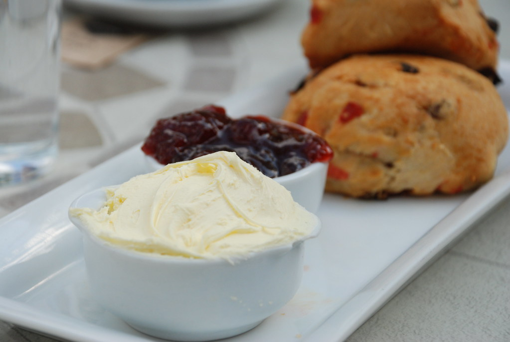 it's very much about the clotted cream