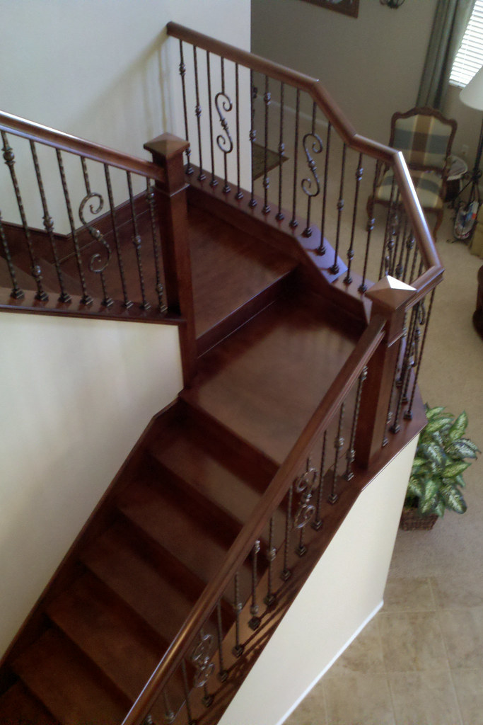 Gaz1 (k Pinson Stairs) Tags: Stairs Staircase Handrail Remodel  Spiralstaircase Spiralstairs Circularstairs Treads