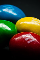 Peanut Butter M&M's [Explored] (skippys1229) Tags: blue red macro green yellow canon rebel mms florida 100mm canonrebel fl mm obstacle macrolens marioncounty 2011 explored canonef100mmf28macrousm macromondays macromonday marioncountyfl rebelt1i t1i canonrebelt1i