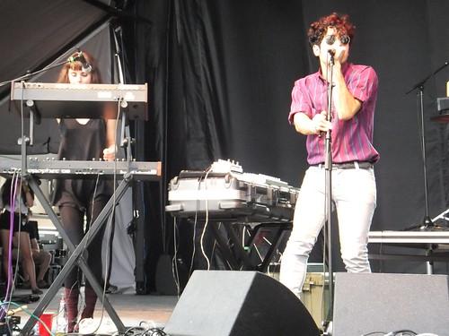 Neon Indian at Ottawa Bluesfest 2011