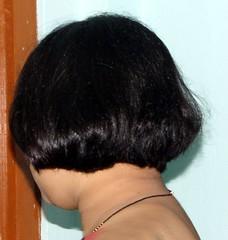 July 2011 Haircut (8) (rhodendron_999) Tags: haircut bob short