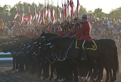 The Riders (Tawaw) Tags: horses canada flag ottawa police rcmp equestrian stetson mounties mountedpolice royalcanadianmountedpolice policehorses musicalride redserge canadianpolicecollege