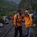 Iniciando a Caminhada Inca com chuva