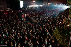 Crowd at Main Stage during Portishead #EXIT2011
