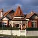 Casas antigas típicas de Melbourne