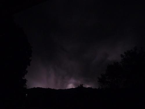 Gewitter über dem Wettersteingebirge