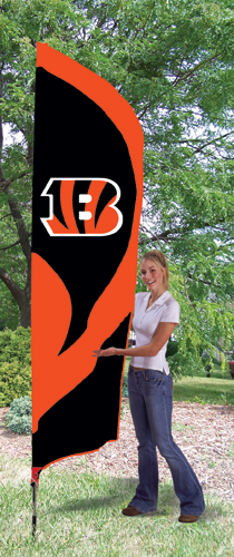 Cincinnati Bengals Tall Feather Flag