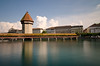 Lucerne - [EXPLORED] (andreaskoeberl) Tags: longexposure tower river schweiz switzerland nikon luzern lucerne ndfilter powdertower 1685 d7000 nikon1685 nikond7000 andreaskoeberl