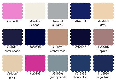 thursday palette