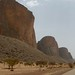 Sentido a vila de Hombori no leste de Mali