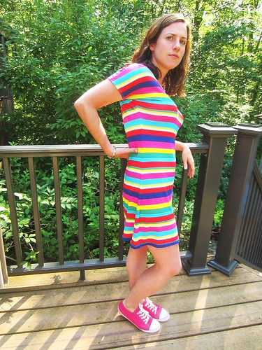 The Cabana Dress stripe