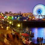 Santa Monica - Evening at the pier