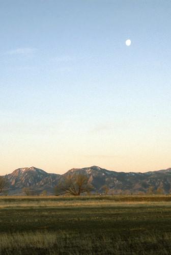 Photo - Moonset