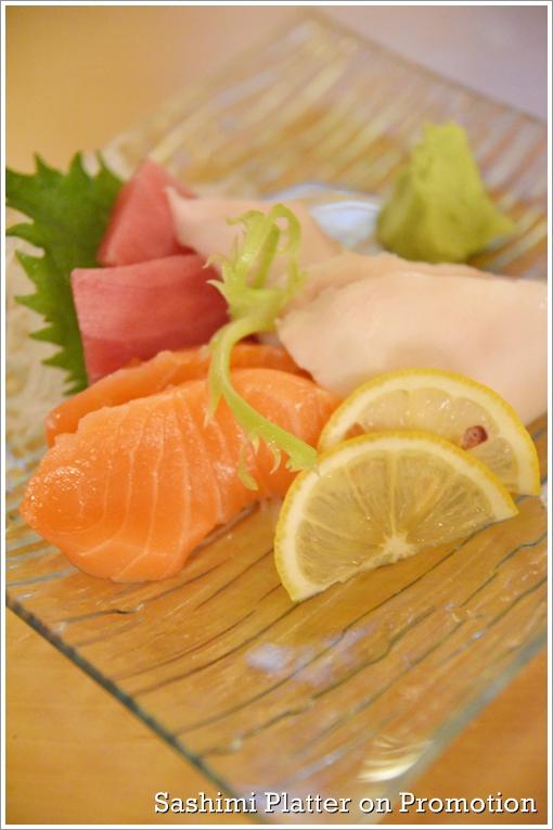 Sashimi Promotion