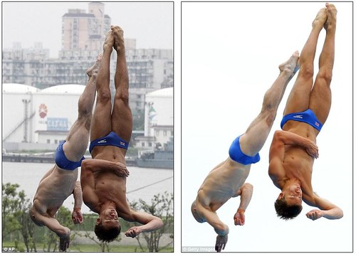 Tom Daley puts on a Shanghai spectacular in breathtaking display with diving partner  7