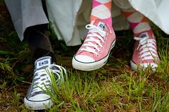 Chucks! (Kiss) Tags: pink feet grey shoes sneakers converse argyle chucks chucktaylors