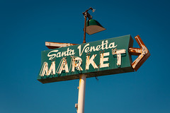 Saint Venetia (Jeff Boyd) Tags: signs sign market supermarket signage marincounty sanrafael northbay oldsigns santavenetia