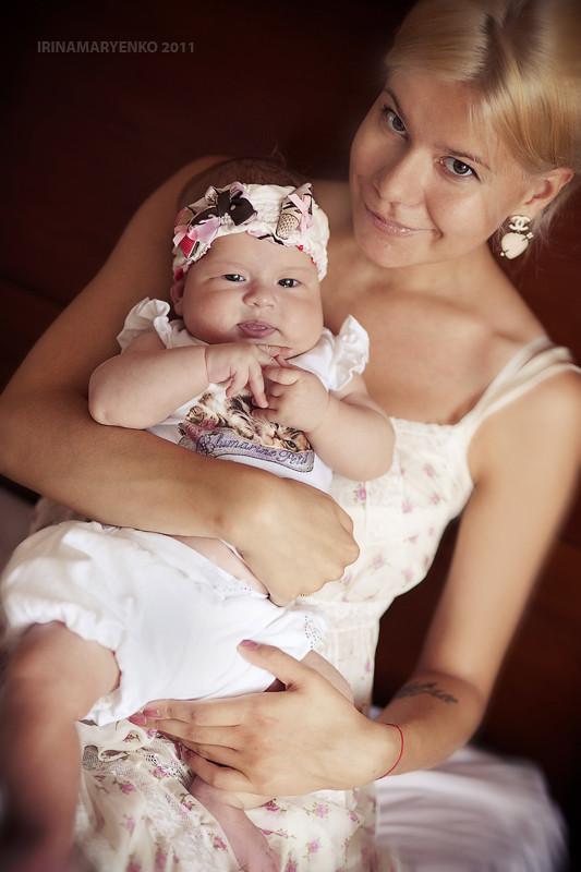 Фотосессия мама с ребенком. Фотограф Ирина Марьенко. Fotostomp.ru