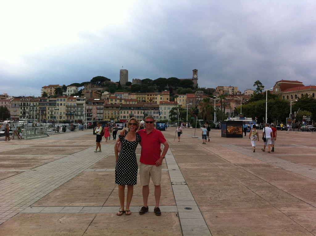 Sonja and Marc in Cannes