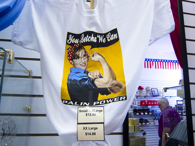 Palin the Riveter t-shirt