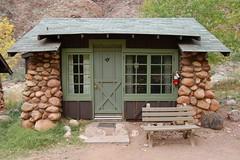 Grand Canyon: Phantom Ranch Cabin 0097 (Grand Canyon NPS) Tags: creek grandcanyon lodge coloradoriver destination mule riparian marycolter colter phantomranch