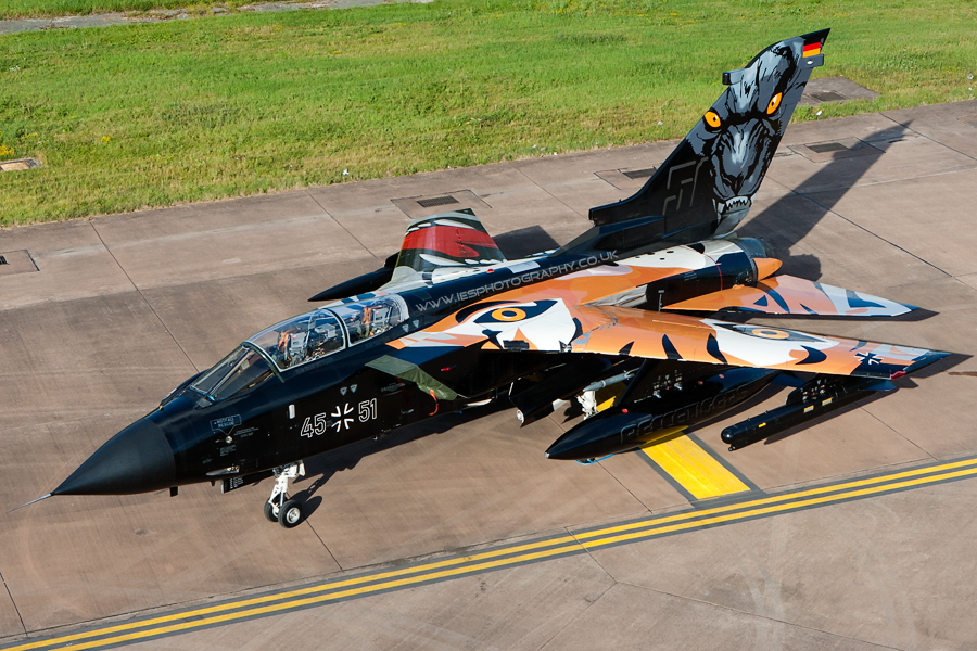 RIAT German Tiger NATO Tornado