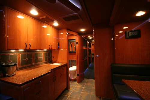 Quicksilver - Galley and Bathroom