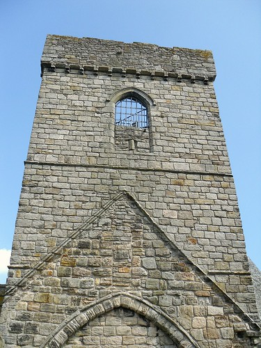 Inchcolm Abbey tower