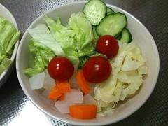 朝食サラダ(2011/7/20)