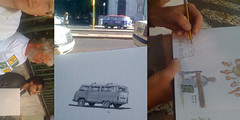 Location Lisboa (Flaf) Tags: voyage vw pen ink de drawing lisbon sketching sketchbook 2nd international marker lissabon florian michel symposium gerard lieferwagen t2 bulli carnet fabien denoel lisboe afflerbach
