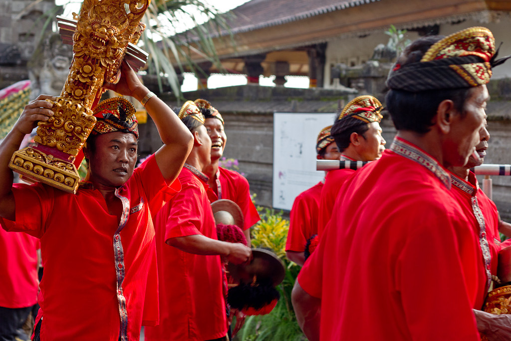 J77 / La Carte Postale : Bali, l'île des Dieux