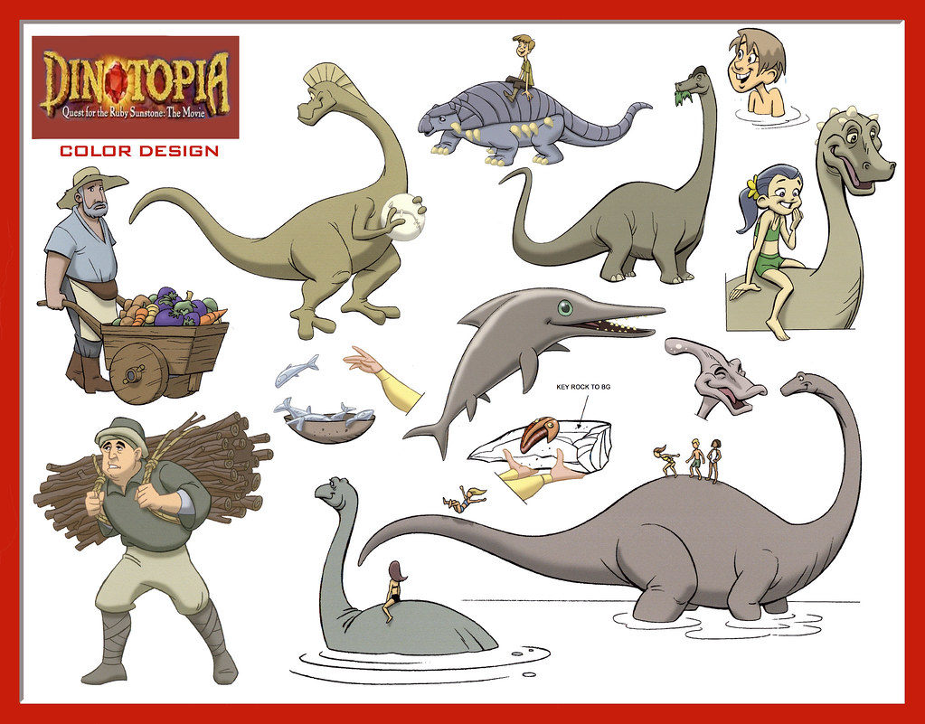 dinotopia coloring pages - photo#19