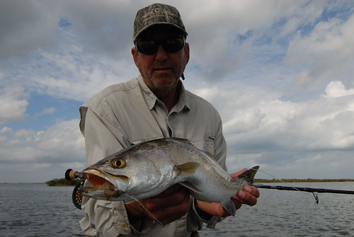 Paul Cave w/ seatrout