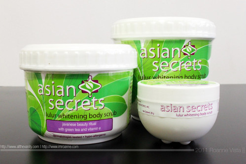 Asian Secrets Lulur Whitening Body Scrub