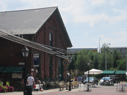 The Distillery District a hot tourist attraction